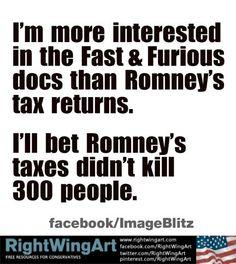 Right Wing Art - Image - Romney didn't kill 300 people...