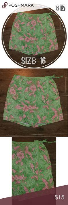 "Pin Up Sag Harbor Sport Skort Skirt Shorts Size 16 Sag Harbor Sport Skort Skirt Shorts!  ❤WAIST: 34"" ❤LENGTH: 19"" ❤CONDITION: GOOD Sag Harbor Shorts Skorts"