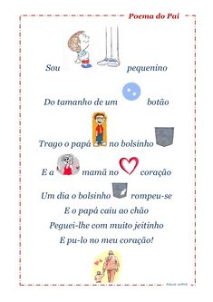 Poema sou pequenino pai by cigm1 via slideshare
