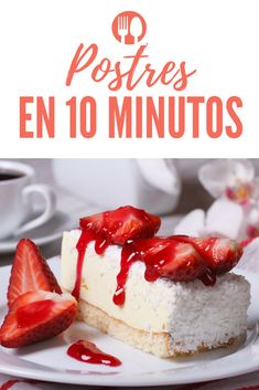 Recetas de postres rápidos, sencillo y deliciosos Spanish Food, Dessert Recipes, Desserts, Cheesecake, Good Food, Cupcakes, Sweets, Candy, Cooking
