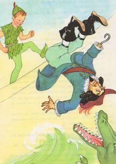 Peter Pan Illustration By Margaret Torrey