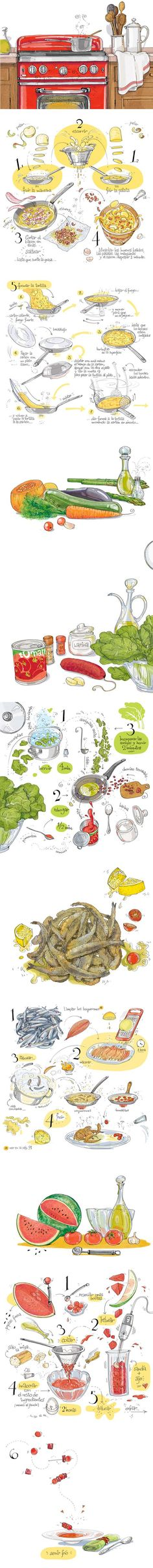 The Drawn Recipes Cookbook: