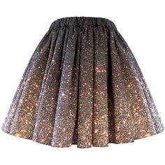 Stardust Galaxy Ombre Skirt - Short ($138) ❤ liked on Polyvore featuring skirts, mini skirts, bottoms, saias, faldas, short mini skirts, patterned skirts, print skirt, galaxy skirt and galaxy print skirt