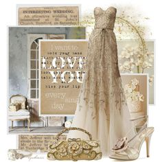 An Interesting Wedding, created by cynthia335 on Polyvore