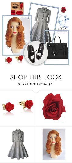 """""""1940's"""" by ballet-gal123 on Polyvore featuring Disney and Yves Saint Laurent"""