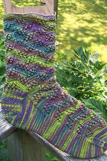 Tilt and Whirl Socks by Jane Cochran - free