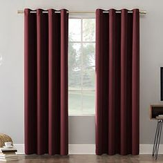 Sun Zero Cameron Thermal Insulated 100% Blackout Grommet Curtain Panel | Kohls Grommet Curtains, Drapes Curtains, Curtain Panels, Curtains Kohls, Printed Curtains, Blackout Windows, Blackout Curtains, Gadgets, Thing 1