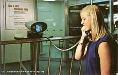 Museum Science and Industry - Picture phone from the Bell Telephone Exhibit 1960's.
