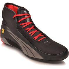Puma Alekto Mid Ferrari Racing Shoes, Wrestling Shoes, Mens Training Shoes, Fashion Shoes, Mens Fashion, Pumas Shoes, Custom Shoes, Sports Shoes, Stylish Men