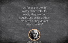 Math Quotes, Words Quotes, Math Classroom, Maths, Laws Of Mathematics, Fun Math Games, Math Education, Albert Einstein, Lesson Plans