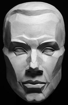 Planes of the Face Artist's Reference Model by rena