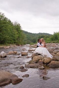 Morning-after wedding photo shoot. At Dolly Sods in West Virginia. LOVE it. WV WEDDINGS.