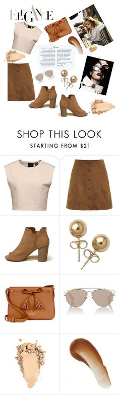 """""""Elegance for hot summer days"""" by nadina-2001 ❤ liked on Polyvore featuring Puma, Hollister Co., Bling Jewelry, Kate Spade, Christian Dior and This Works"""