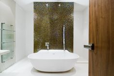 Free Standing Bath with Blade Spout in Marylebone by Hyde Park Bathrooms Standing Bath, Hyde Park, Blade, Bathrooms, Kitchens, Free, Design, Bathroom, Full Bath