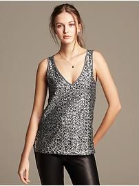 Sequin-Front Tank