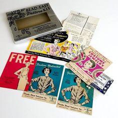 Vintage Dorothy Flicek  Bead Easy Pattern Kit Craft House Products ADVERTISING #DorothyFlicek