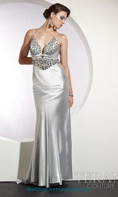 Terani Prom Dress 130 | Satin, Colors and Products