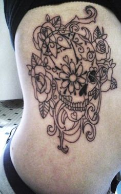 sugar skulls are too cool as well