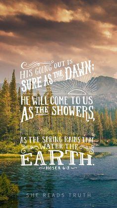 Hosa 6:3