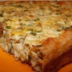 Greek chicken pie. Recipes with photos.