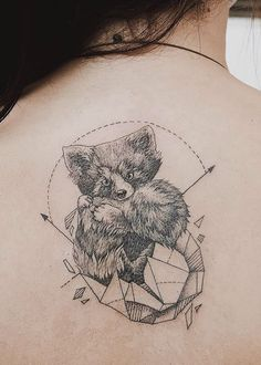Geometrical Tattoos By Jasper Andres Beautifully Fuse Geometry With Nature