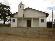 Igreja São Sebastião localizada em Avencal de Cima no interior de Mafra/SC, Brasil.