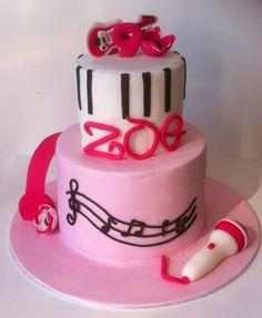 Gâteau violeta en rose