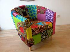 Technicolour Tub Chair Designed