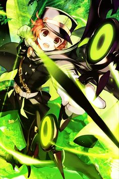 Owari no Seraph-yoichi favorite character, he's kind of my role-model for standing up ^-^