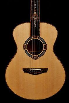 Lady Eire Celtic Guitar