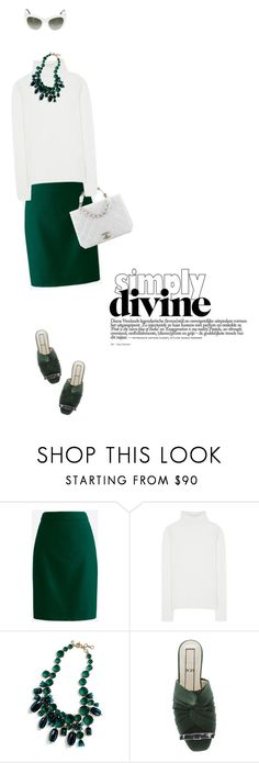 """""""Simply divine #550"""" by meryflower ❤ liked on Polyvore featuring J.Crew, Chanel, Chloé, N°21, Dolce&Gabbana, Simply and twocolors"""