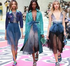 Burberry Prorsum Spring/Summer 2015 Collection - London Fashion Week