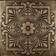 "Victorian - Styrofoam Ceiling Tile - 20""x20"" - #R 14 - More colors available at http://www.decorativeceilingtiles.net/r-14-styrofoam-victorian-ceiling-tile/"