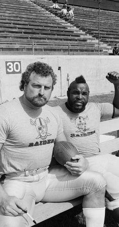 """John Matuszak (Oakland Raiders) and Mr. Matuszak played Sloth in the movie 'The Goonies'. Raiders Stuff, Oakland Raiders Football, Raiders Baby, Nfl Oakland Raiders, Okland Raiders, Oakland Athletics, John Matuszak, Football Memes, Football Season"