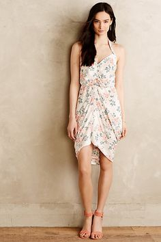 Draped Bouquet Dress #anthropologie