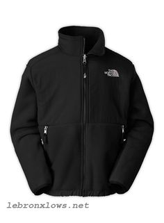 cheap authentic All Black The North Face Boys Denali Jacket online store sale
