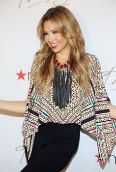 Thalia Kicks Off Her Fall Collection