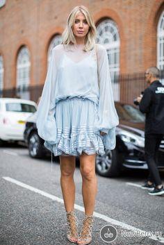 Street style на неделе моды в Лондоне 2017