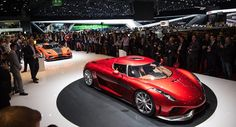 Koenigsegg Regera at the 2016 Geneva Motor Show