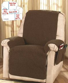 Fleece Recliner Covers