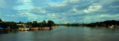 Kota Kecil di Kalimantan Barat Bernama Putussibau. #Indonesia, Love Indonesia