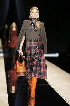tartan skirt British style by Dolce & Gabbana