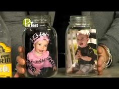 How to Transfer Photos to Candle Holders : Crafting Projects - YouTube