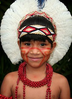 Goty Pataxó _ the Pataxó nation. Coroa Vermelha indigenous reservation