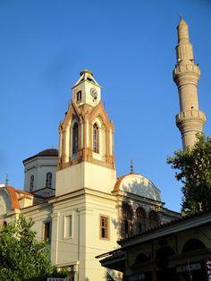 Ayvalık saatli cami - Hagia Ianni church / Ayvalik, TURKEY