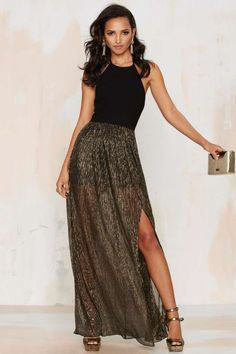 All Night Long Metallic Halter Dress - Clothes | All Things Glitter | All | Party Shop | Going Out | Sequins & Glitter