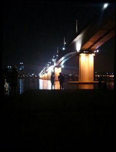 Seoul Korea 한강 river nightscape freinds
