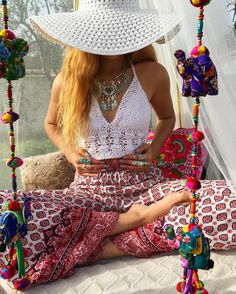 Little shooting  Summer is coming soon  I reveal you some picture  White crochet with my hippy pants and my silver jewels  #shooting #summer #soon #white #crochet #hippy #pants #silver #gypsy #jewels #ethnique #bohostyle #gypsylove #love #louanne  by ___gypsylove___