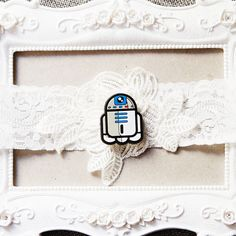Star Wars Garter Bridal Garter Wedding Garter by NAFEstudio