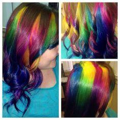 Rainbow Hair par Usula Goff